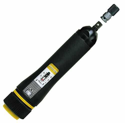 Proxxon 23347 MicroClick-Drehmomentschrauber MC5 1–5 Nm mit Kunststoffkoffer